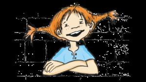 Zeichnung von Pippi Langstrumpf
