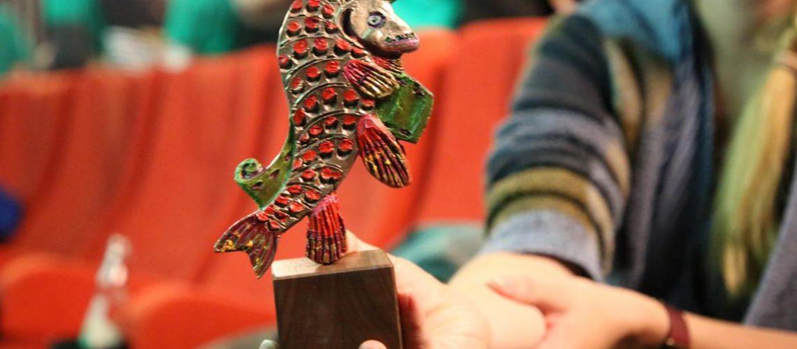 Einer von drei Goldenen Hechten, die von der KINOLINO-Jury vergeben werden.